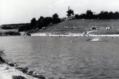 koupaliště Horní Lukavice 60tá léta